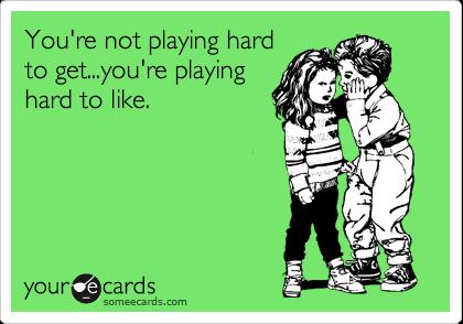 Playing Hard to Get Games