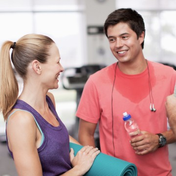 The gym dating game in Perth